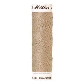 Mettler Threads - Seralon Polyester - 100m Reel - Oat Flakes 0537