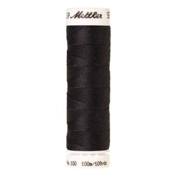 Mettler Threads - Seralon Polyester - 100m Reel - Plumb Grey 1008
