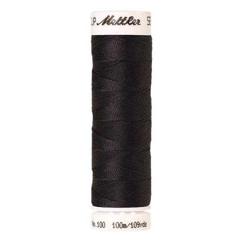 Mettler Threads - Seralon Polyester - 100m Reel - Plumb Grey 1008