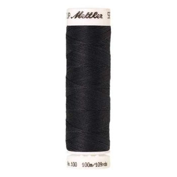 Mettler Threads - Seralon Polyester - 100m Reel - Dark Pewter 1452