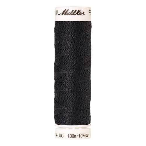 Mettler Threads - Seralon Polyester - 100m Reel - Dark Pewter 1452