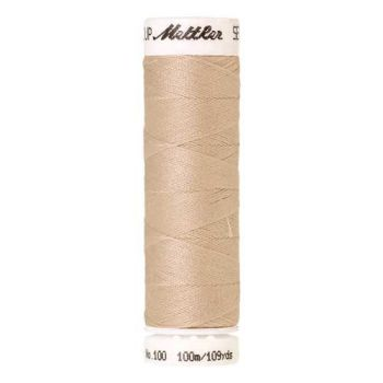 Mettler Threads - Seralon Polyester - 100m Reel - Pine Nut 0779