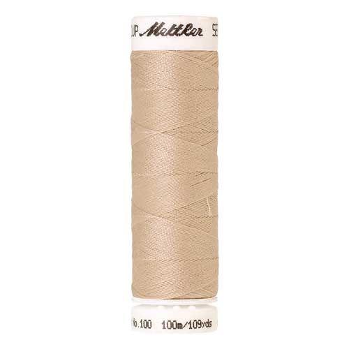Mettler Threads - Seralon Polyester - 100m Reel - Pine Nut 0779