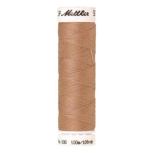 Mettler Threads - Seralon Polyester - 100m Reel - Oat Straw 0260