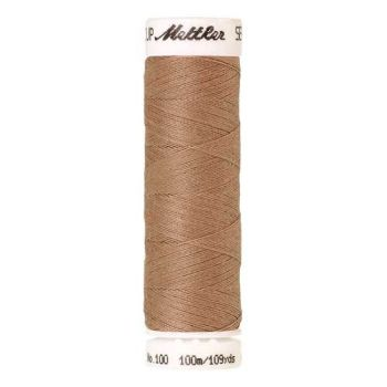 Mettler Threads - Seralon Polyester - 100m Reel - Caramel Cream 0285