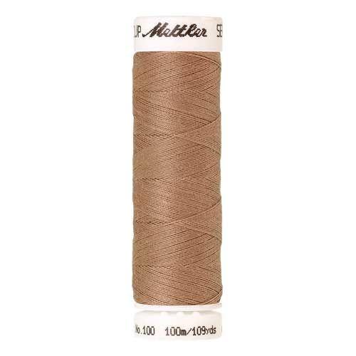 Mettler Threads - Seralon Polyester - 100m Reel - Caramel Cream 0285