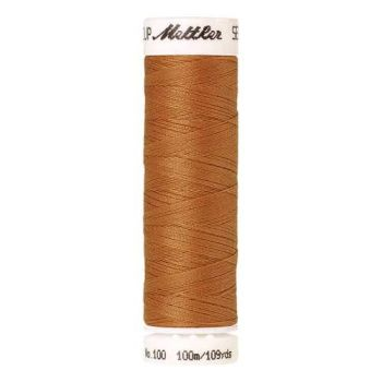 Mettler Threads - Seralon Polyester - 100m Reel - Dried Apricot 1172