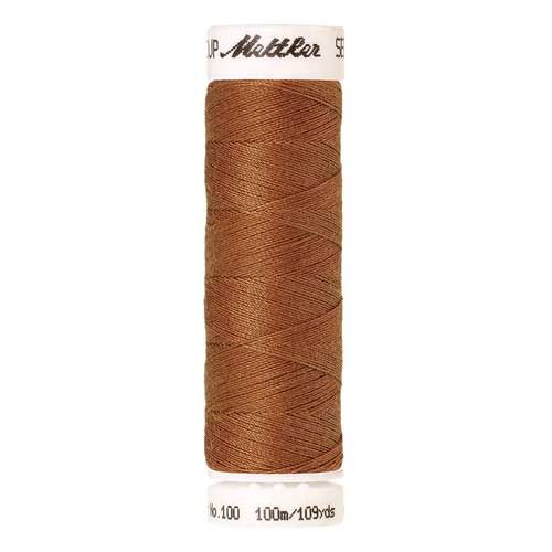 Mettler Threads - Seralon Polyester - 100m Reel - Ashley Gold 0174