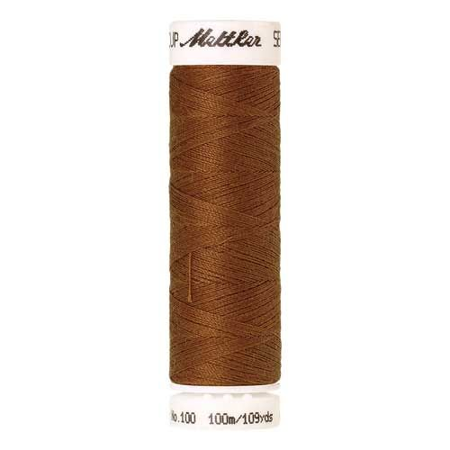 Mettler Threads - Seralon Polyester - 100m Reel - Brass 1131