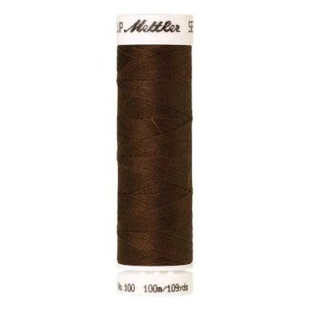 Mettler Threads - Seralon Polyester - 100m Reel - Dark Brass 1320