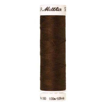 Mettler Threads - Seralon Polyester - 100m Reel - Dark Brass 1320