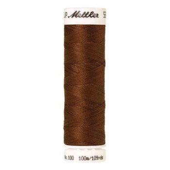 Mettler Threads - Seralon Polyester - 100m Reel - Light Cocoa 0900