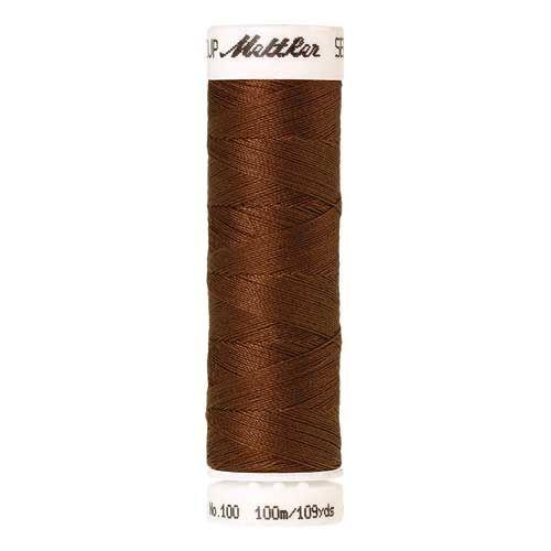 Mettler Threads - Seralon Polyester - 100m Reel - Light Cocoa 0900