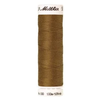 Mettler Threads - Seralon Polyester - 100m Reel - Ginger 1207