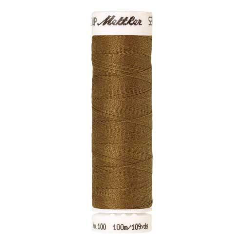 Mettler Threads - Seralon Polyester - 100m Reel - Ginger 1207