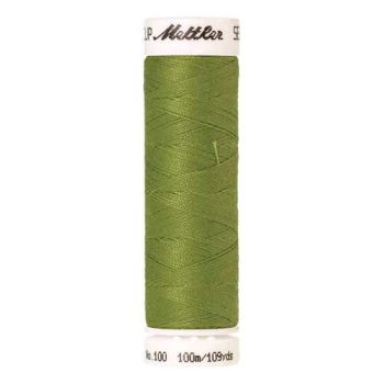 Mettler Threads - Seralon Polyester - 100m Reel - Yellow Green 1146