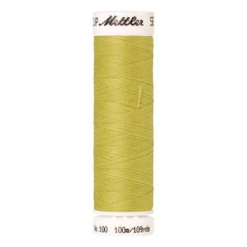 Mettler Threads - Seralon Polyester - 100m Reel - Light Brass 1351