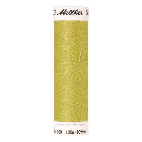 Mettler Threads - Seralon Polyester - 100m Reel - Light Brass 1351