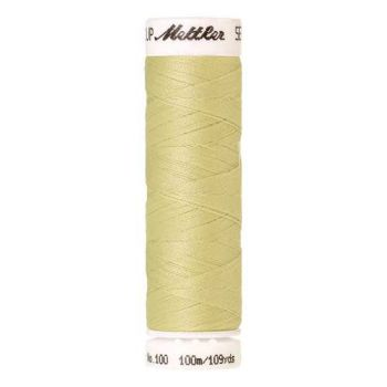 Mettler Threads - Seralon Polyester - 100m Reel - Lemongrass 1345