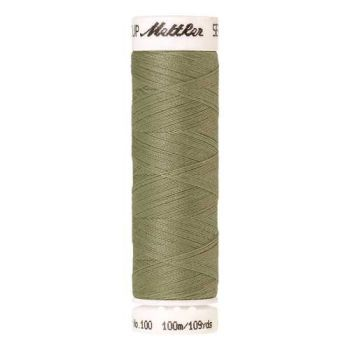 Mettler Threads - Seralon Polyester - 100m Reel - Green Grape 1212