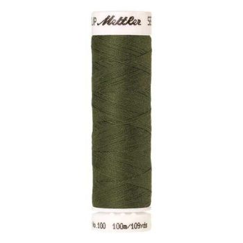 Mettler Threads - Seralon Polyester - 100m Reel - Seagrass 1210