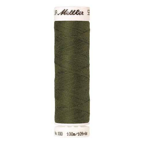 Mettler Threads - Seralon Polyester - 100m Reel - Seagrass 1210