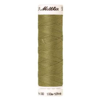 Mettler Threads - Seralon Polyester - 100m Reel - Army Drab 0466