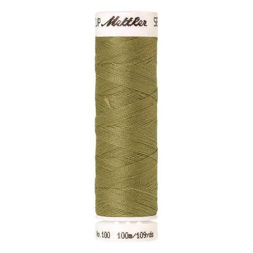 Mettler Threads - Seralon Polyester - 100m Reel - Army Drab 0466