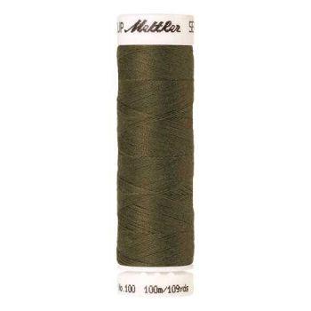 Mettler Threads - Seralon Polyester - 100m Reel - Olive Drab 0420