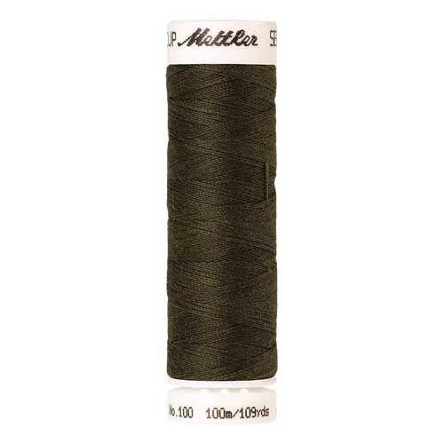 Mettler Threads - Seralon Polyester - 100m Reel - Umber 0660