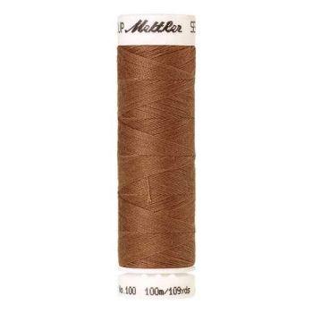 Mettler Threads - Seralon Polyester - 100m Reel - Dark Tan 0287