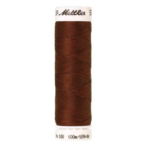 Mettler Threads - Seralon Polyester - 100m Reel - Rust 0278