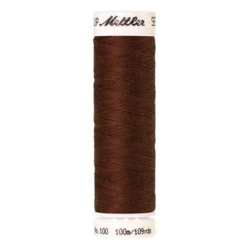 Mettler Threads - Seralon Polyester - 100m Reel - Foxy Red 0634