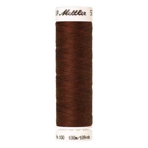 Mettler Threads - Seralon Polyester - 100m Reel - Foxy Red 0634