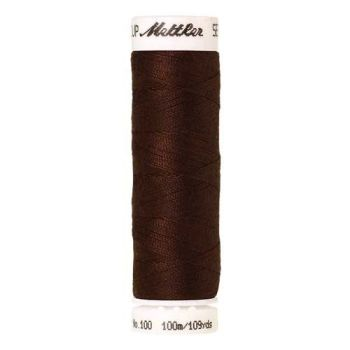 Mettler Threads - Seralon Polyester - 100m Reel - Cinnamon 0175