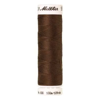 Mettler Threads - Seralon Polyester - 100m Reel - Pecan 1223