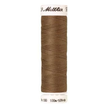 Mettler Threads - Seralon Polyester - 100m Reel - Pecan 1424