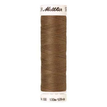 Mettler Threads - Seralon Polyester - 100m Reel - Pecan 1424