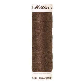 Mettler Threads - Seralon Polyester - 100m Reel - Espresso 1380