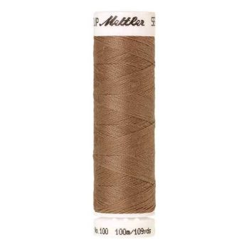 Mettler Threads - Seralon Polyester - 100m Reel - Dark Rattan 0267