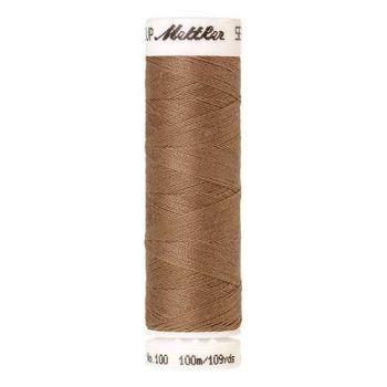 Mettler Threads - Seralon Polyester - 100m Reel - Dark Rattan 0267