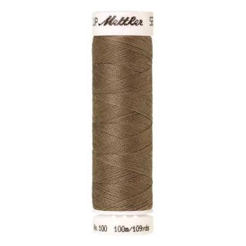 Mettler Threads - Seralon Polyester - 100m Reel - Dried Clay 0380