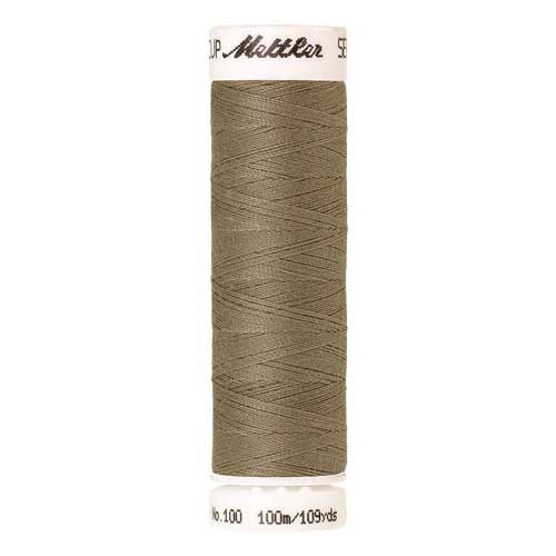 Mettler Threads - Seralon Polyester - 100m Reel - Dried Seagrass 0530