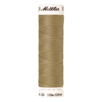 Mettler Threads - Seralon Polyester - 100m Reel - Rattan 1385