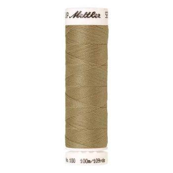Mettler Threads - Seralon Polyester - 100m Reel - Rattan 1385
