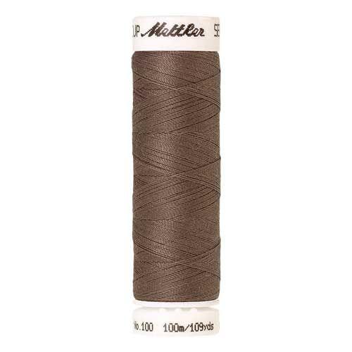 Mettler Threads - Seralon Polyester - 100m Reel - Khaki 1228