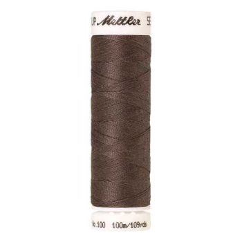 Mettler Threads - Seralon Polyester - 100m Reel - Smoky Topas 0398
