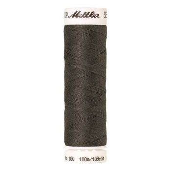 Mettler Threads - Seralon Polyester - 100m Reel - Pewter 1239