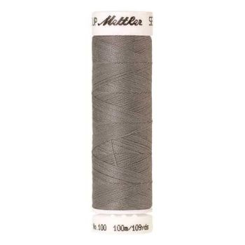 Mettler Threads - Seralon Polyester - 100m Reel - Titan Grey 0413