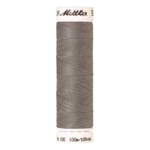 Mettler Threads - Seralon Polyester - 100m Reel - Titan Grey 0413